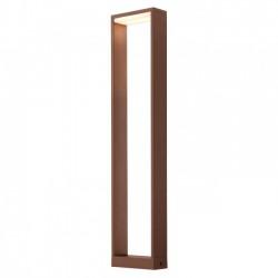 Stalp Led SMD pentru exterior Gate din aluminiu culoare ruginie 9467 Redo