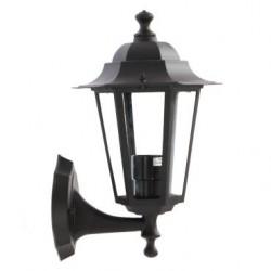 Aplica pentru iluminat exterior orientata in sus London 6101N, 1 x E27, negru, Smarter
