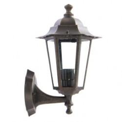 Aplica pentru iluminat exterior orientata in sus London 6101R, rustic,1 x E27, Smarter
