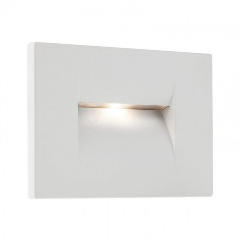 Aplică Inner de încastrat în perete, pentru exterior sau interior, cu lumină asimetrică 9635 Redo Outdoor