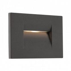 Aplică Inner de încastrat în perete, pentru exterior sau interior, cu lumină asimetrică. 9636 Redo Outdoor