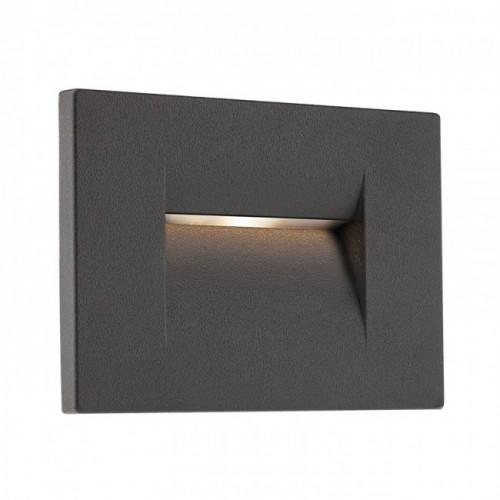 Aplică Inner de încastrat în perete, pentru exterior sau interior, cu lumină asimetrică 9547 Redo Outdoor