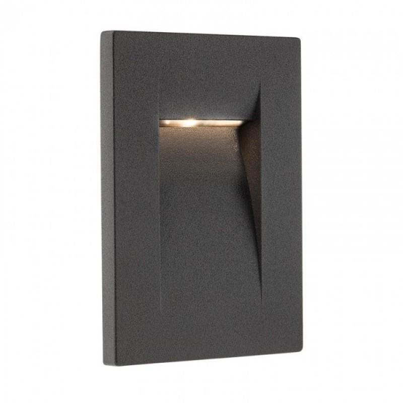 Aplică Inner de încastrat în perete, pentru exterior sau interior, cu lumină asimetrică 9638 Redo Outdoor
