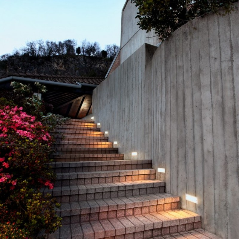 Aplică Pano  pentru exterior sau interior cu LED, din aluminiu. 9639 Redo Outdoor