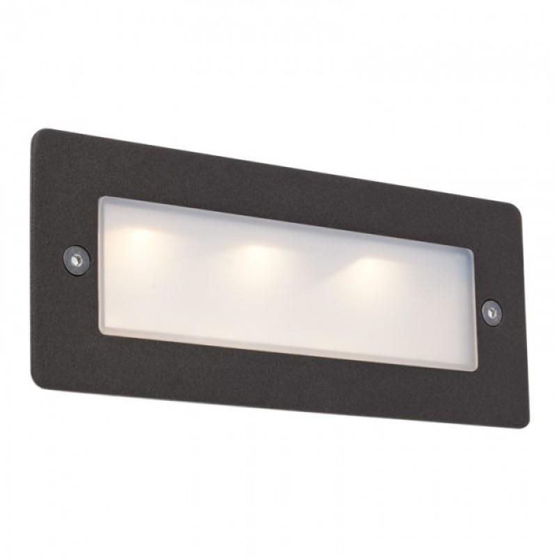 Aplică Pano  pentru exterior sau interior cu LED din aluminiu.9640 Redo Outdoor