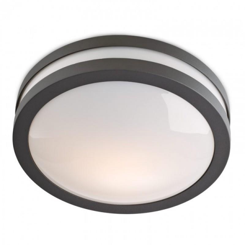 Aplică/plafonieră Sonar exterior din aluminiu culoare gri 9393 Redo Outdoor