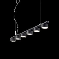 Suspensie de interior Cadru și difuzoare din metal acoperit cu pulbere cu finisaj negru 235486 MINOR