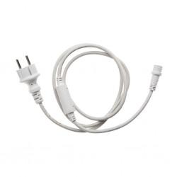 Cablu de alimentare 1.5m alb cu stecher gama S-Out 30-191500 Dablerom