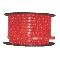 Tub luminos D13 1 canal 36 becuri/ metru culoare rosie 30-2121 Dablerom