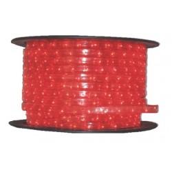 Tub luminos D13 2 canale 36 becuri/ metru culoare rosie 30-2221 Dablerom