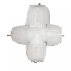 """Mufa de imbinare Cruce """"+"""" pentru tub luminos 2 canale gama S-Mod 30-50140 Dablerom"""