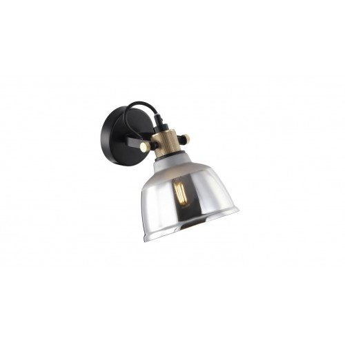 Aplică ASGARD AP1 smoke & gold & negru KLAUSEN Urban Collection