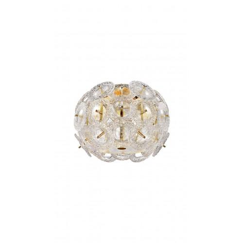 Aplică EXPLOSIVE PL1 gold & alb KLAUSEN Charm Collection
