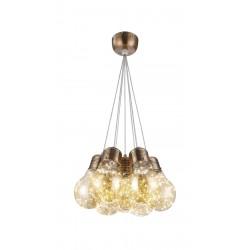 Suspensie BULBS SP7 bronz & ambra KLAUSEN Charm Collection