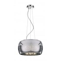 Suspensie ORCHIDE SP5 smoke & crom KLAUSEN Charm Collection