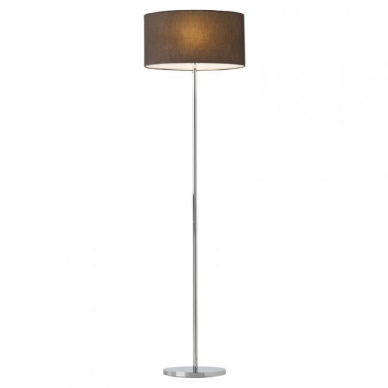 Lampadar pentru interior Enjoy structura din metal cu abajur maro 01-681 BR Redo