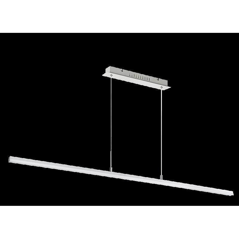 Pendul Esther structura din metal cu LED-uri si abajur din plastic 2217 Rabalux
