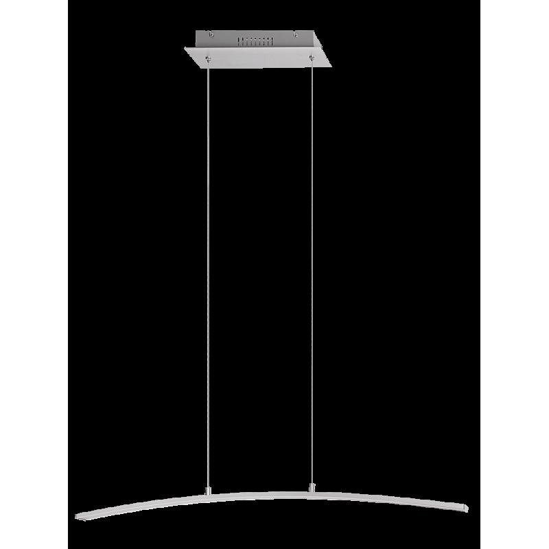 Pendul Addison structura din metal cu LED-uri si abajur din plastic 5759 Rabalux