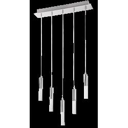 Pendul Rheia LED structura din metal si abajur din plastic 5764 Rabalux