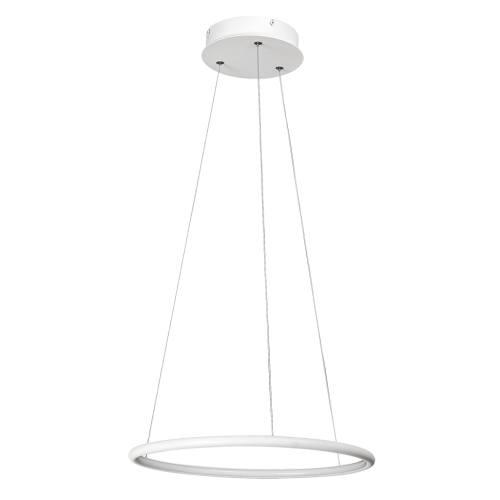 Pendul Donatella structura din metal cu LED-uri si abajur din plastic 2543 Rabalux