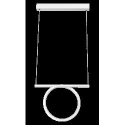 Pendul Donatella structura din metal cu LED-uri si abajur din plastic 2547 Rabalux