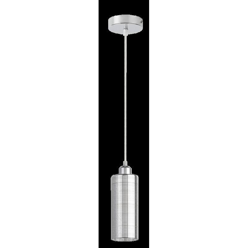 Pendul Vera structura din metal si abajur din sticla 2202 Rabalux