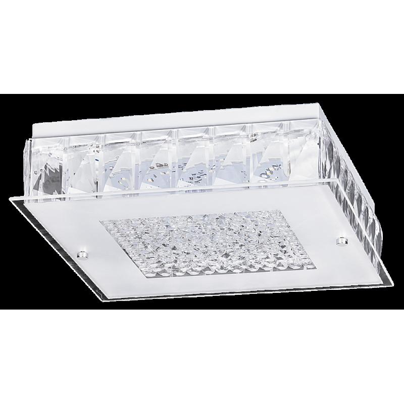 Plafoniera Josephine LED structura din metal si abajur din sticla 2450 Rabalux