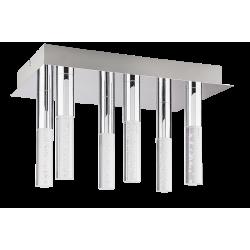 Plafoniera Rheia LED structura din metal si abajur din plastic 5763 Rabalux