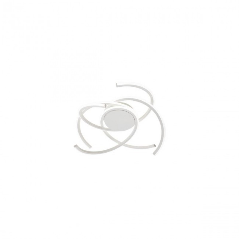 Plafoniera Alien echipata LED 45W structura aluminiu alb mat 01-1799 Redo