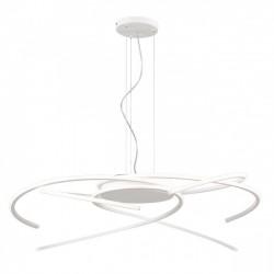 Suspensie Alien echipata LED 70W structura aluminiu alb mat 01-1811 Redo