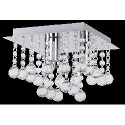 PlafonieraCorinna structura din metal abajur din acril 2617 Rabalux