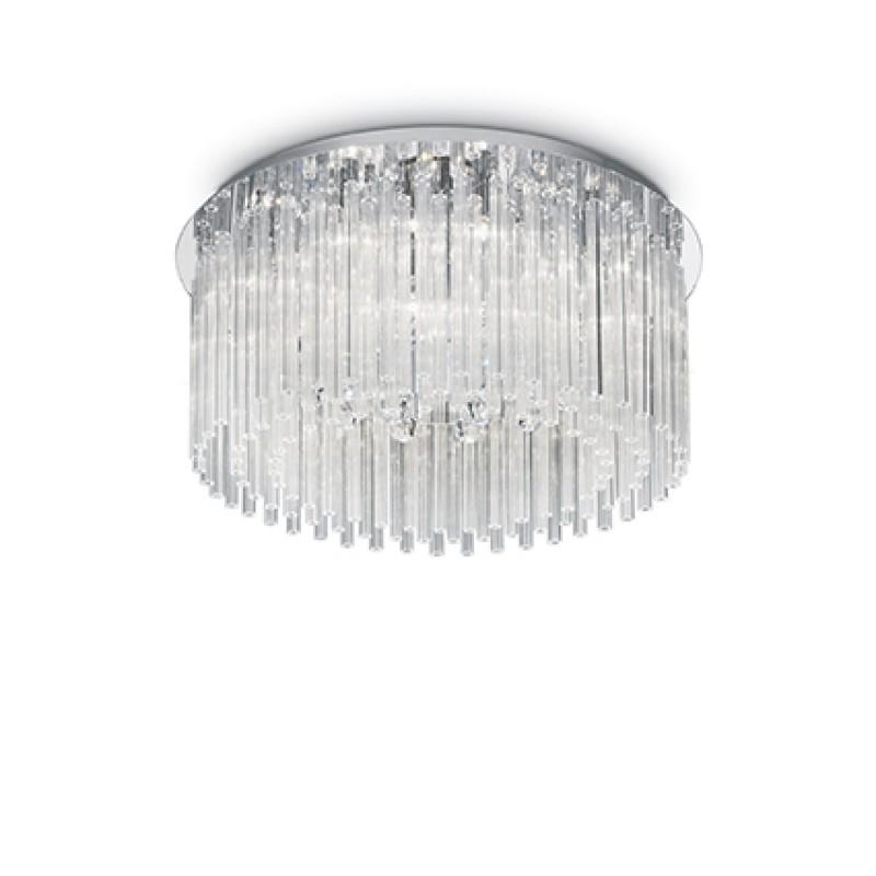 Plafoniera Elegant structura metalica crom 019468 Ideal Lux