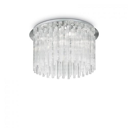 Plafoniera Elegant structura metalica crom 019451 Ideal Lux