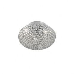Plafoniera Lilas structura metalica si cristale ILL CL3 10 60 Incanti