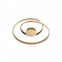 Plafoniera Redo Torsion - 01-1792 - bronz, LED, 30W, 2490 lumeni, alb cald 3000K