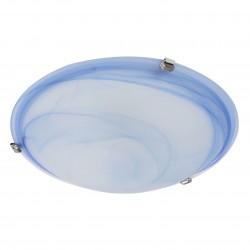 Plafoniera Virginia 05-392, 2 x E27, D400 mm, albastra