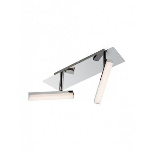 Plafoniera cu led Stick 2 x 4.8W 3000K metal cromat 04-137 Smarter