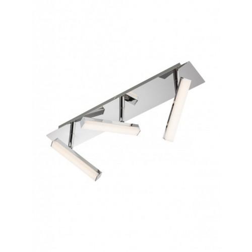 Plafoniera cu led Stick 3 x 4.8W 3000K metal cromat 04-138 Smarter