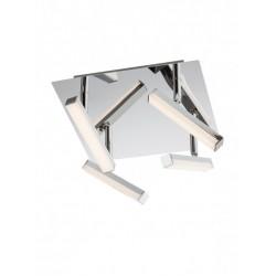 Plafoniera cu led Stick 4 x 4.8W 3000K metal cromat 04-139 Smarter
