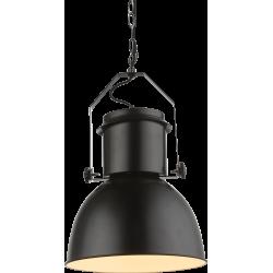 Pendul Kutum metal negru mat E27 15283 Globo