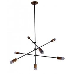 Suspensie Cody structura din metal cu detalii aurii 77-3534 Home Lighting