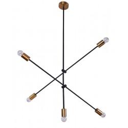Suspensie Cody structura din metal cu detalii aurii 77-3535 Home Lighting