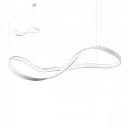 Suspensie Nubo structura din aluminiu si metal cu Led-uri SMD 01-1415 Redo
