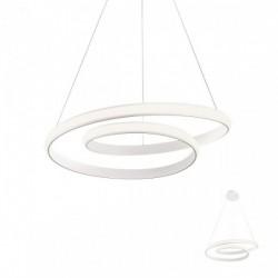 Suspensie Redo Torsion - 01-1793 - alb mat, LED, 30W, 2490 lumeni, alb cald 3000K