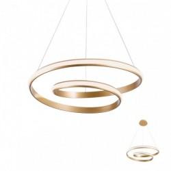 Suspensie Redo Torsion - 01-1794 - bronz, LED, 30W, 2490 lumeni, alb cald 3000K