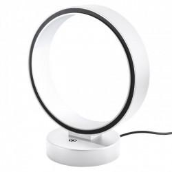 Veioza Atomo echipata cu LED structura metal alb mat cu negru 01-953 Redo