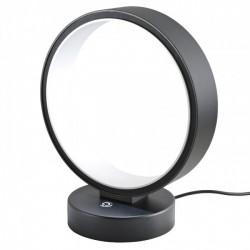 Veioza Atomo echipata cu LED structura metal negru mat cu alb 01-954 Redo