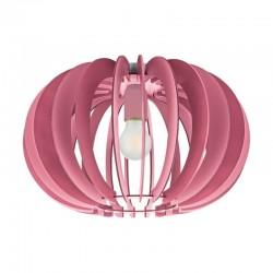 Plafoniera Fabella pentru interior cu abajur din lemn roz 95952 Eglo