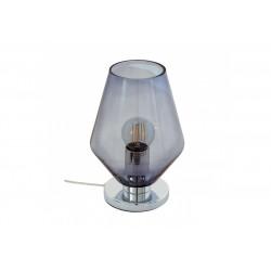Veioza Murmillo cu structura metalica si abajur din sticla 96775 Eglo