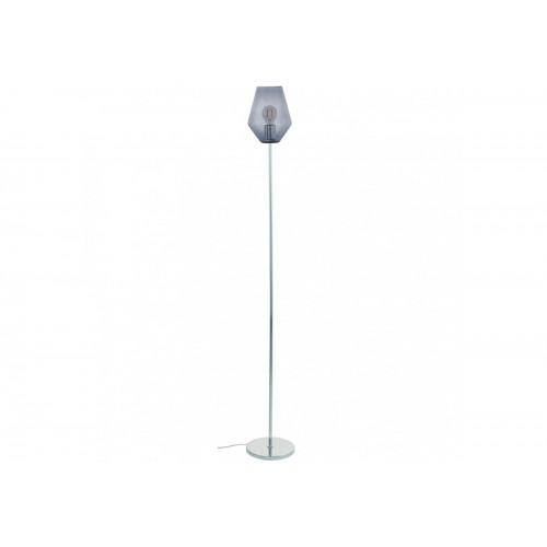 Lampadar Murmillo cu structura metalica si abajur din sticla 96776 Eglo